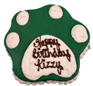 Paw Shaped Cakes Archives The Barkery Birthday Cakes for Dogs