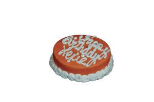 "4"" Round Dog Birthday Cakes"