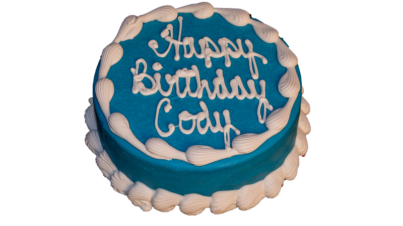 Barkery 6 Round Blue Cake The Barkery Birthday Cakes For Dogs