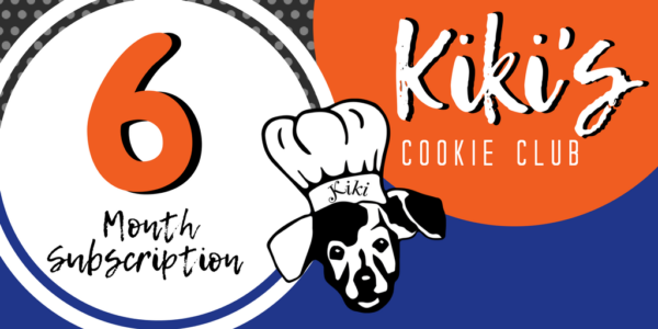 kiki's cookie club, best dog bakery, treat of the month club for dogs