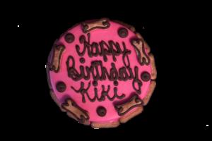 "6"" Round Dog Birthday Cakes"