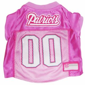 Patriots gear archives the barkery birthday cakes for dogs new england patriots pink nfl dog jersey solutioingenieria Choice Image