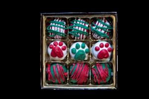 gourmet holiday dog treats