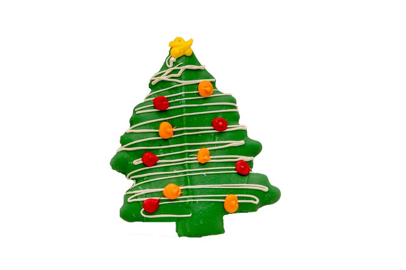 Christmas Tree Cookie Extra Large The Barkery Birthday Cakes For Dogs